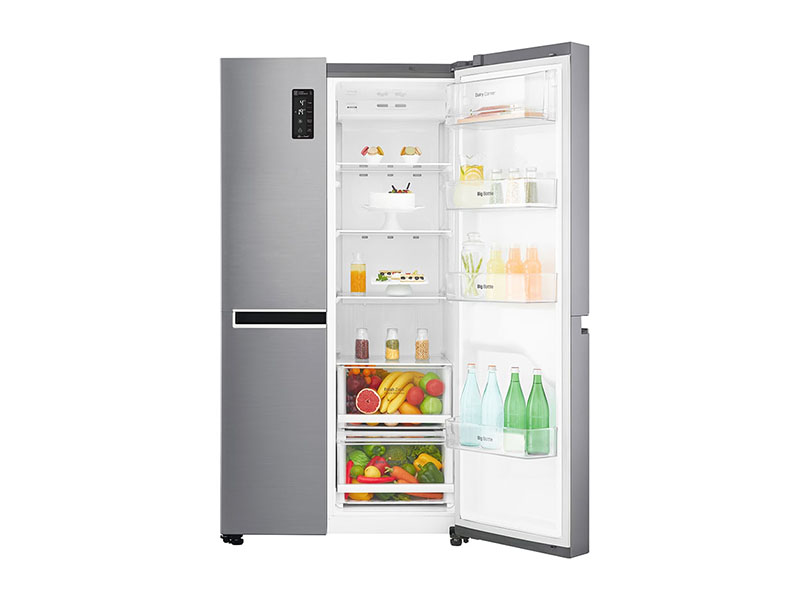 LG 687-Litre Side by Side Refrigerator – GC-B247KQDV LG Fridges