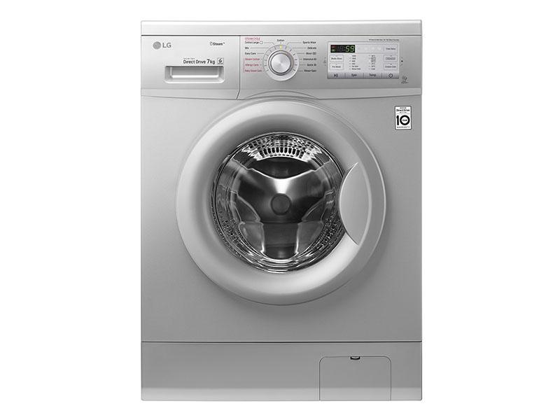 LG 7kg Steam Washing Machine, Silver Knob – FH2G7QDY5