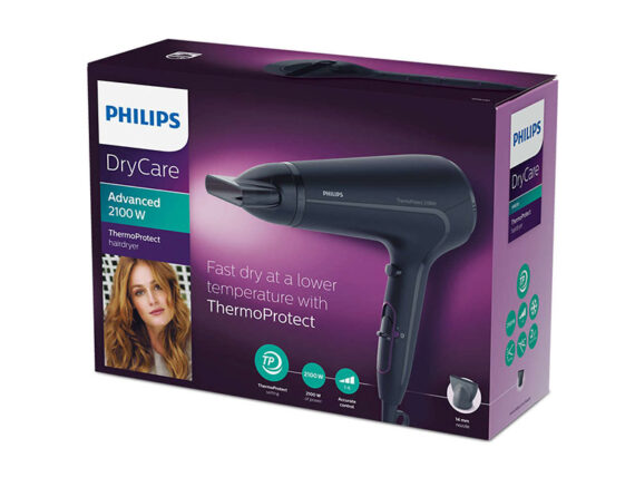 Philips Thermo Protect Hairdryer, 2100 watts – HP8230 Hair Dryers Blow Dryer