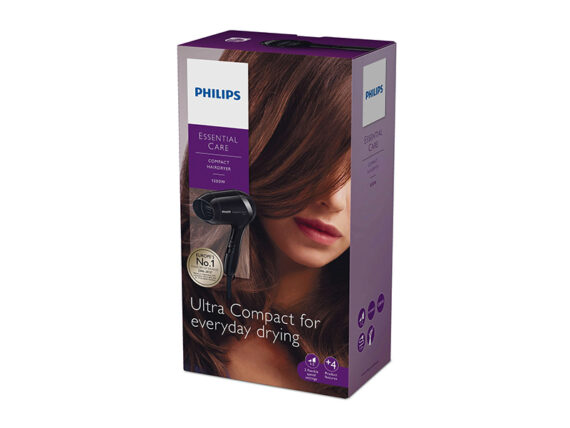 Philips Ultra Compact Hair Dryer 1200w – BHD001 Hair Dryers Blow Dryer