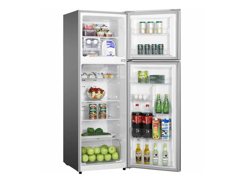 Hisense Double Door Fridge, Top Mount Freezer 328L, Frost-free – RT328N4DGN