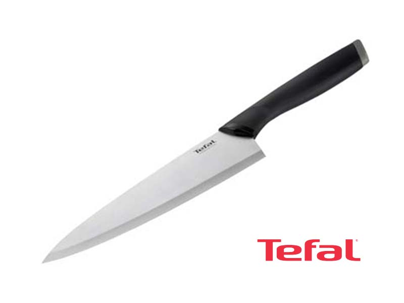 TEFAL Comfort Stainless Steel Chef Knife 20cm – K2213214 Knives Kitchen Knives