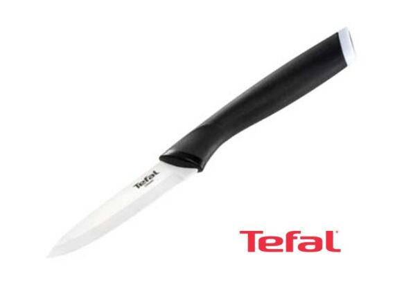 Tefal Comfort Touch 9cm Paring Knife, Stainless Steel – K2213514 Knives Kitchen Knives