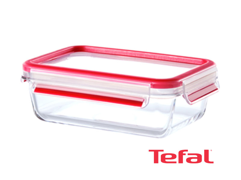 Tefal Masterseal Glass Food Conservation Container, 1.3l – K3010412 Ovensafe Food Containers