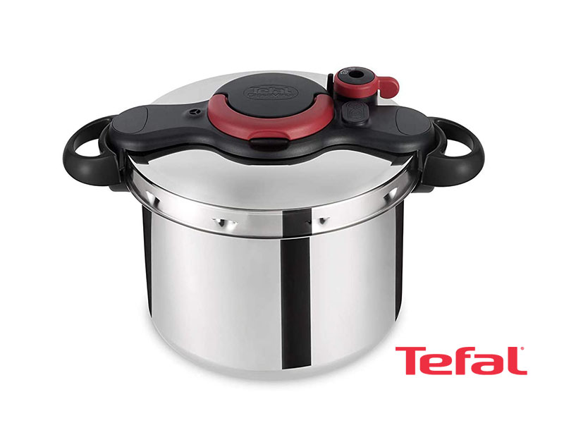 Tefal Clipso MinutEasy Pressure Cooker 9 Liter Stainless Steel – P4624966