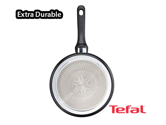 Tefal Extra Durable Non-stick Saucepan with Glass Lid 24cm, C6203272; Gas, Electric and Induction Saucepan Pots and Pans Induction