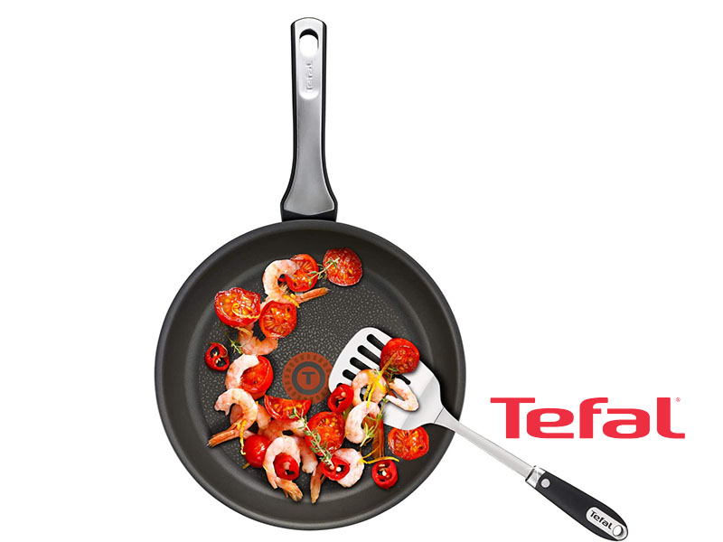 Tefal Non-stick Expertise Frypan, Black, 26cm C6200572; Gas, Electric and Induction Frypan Pots and Pans Fry pan