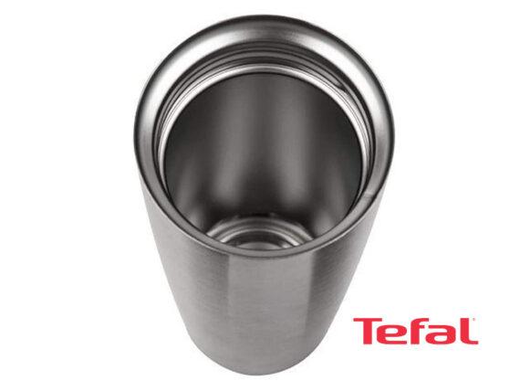 TEFAL Thermos Stainless Steel Travel Mug, 0.5 liter – K3080214 Drinkware