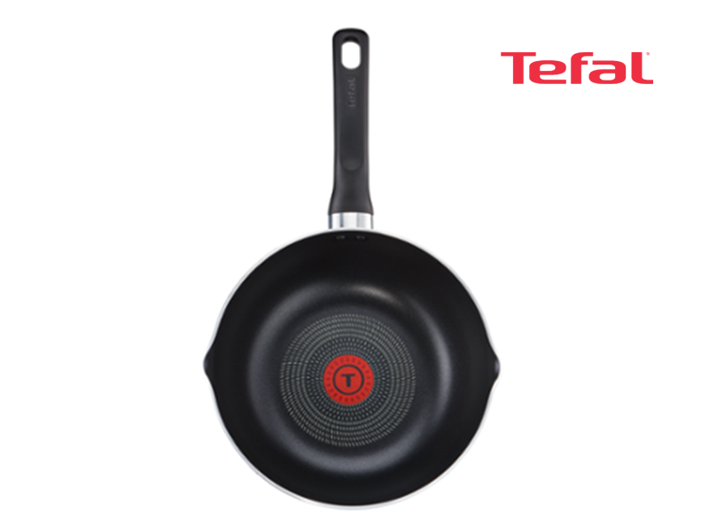 Tefal Super Cook Non-stick Deep Frypan, 24cm – B1436414; Gas and Electric Frypan Pots and Pans Fry pan