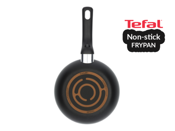 Tefal Super Non-stick Cook Frypan 20cm – B1430214; Gas and Electric Frypan Pots and Pans Fry pan