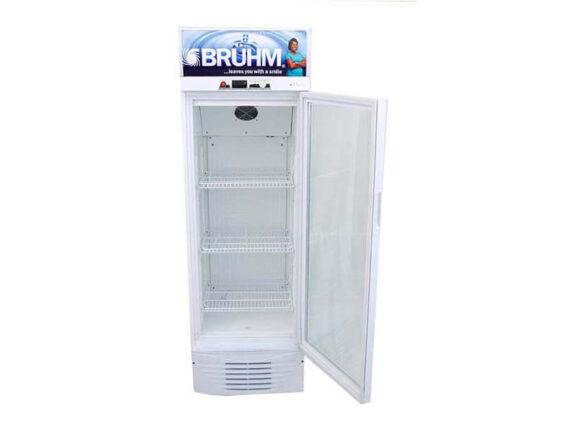 Bruhm 329 liter Single Door Beverage Cooler – Display Refrigerator – BBS329 Display Coolers