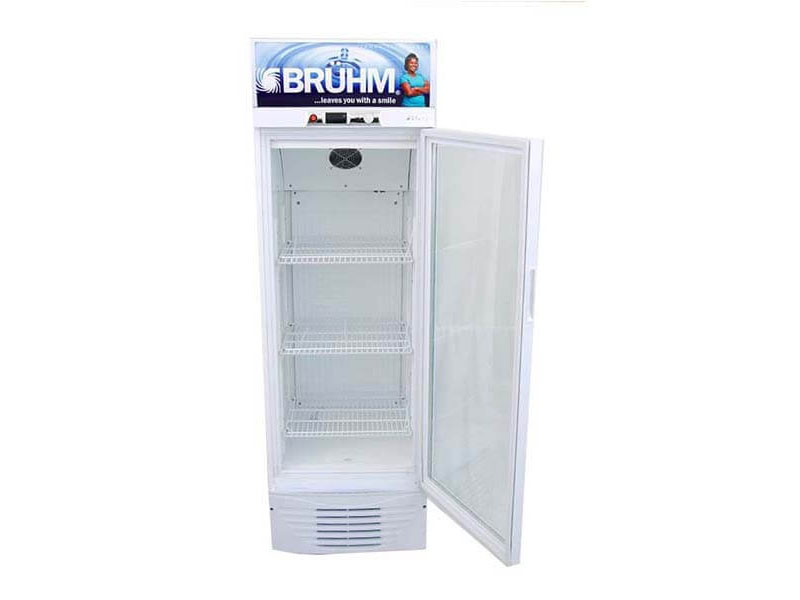 Bruhm 329l Single Door Beverage Cooler – Display Refrigerator – BBS329