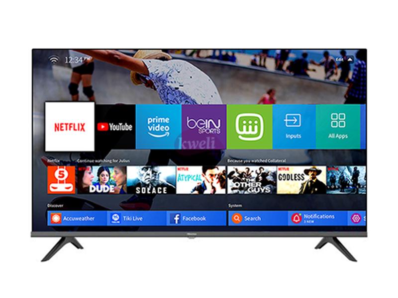 Hisense 65 inch 4K UHD Smart TV 65A6100UW – VIDAA-U Smart TV, Bluetooth, Remote Now, Chromecast (Any View Cast), Built-in WiFi Receiver, HDMI, USB, Free-to-air Receiver (Frameless) 4K UHD Smart TV