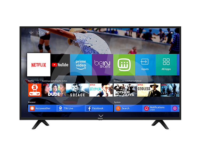 Hisense 75 inch 4K UHD Smart TV 75B7500UW – VIDAA-U Smart TV, Bluetooth, Remote Now, Chromecast (Any View Cast), Built-in WiFi Receiver, HDMI, USB, Free-to-air Receiver 4K UHD Smart TV