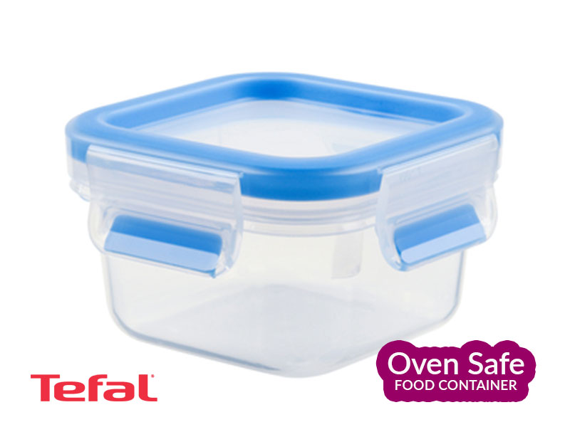 Tefal Masterseal Ovensafe Fresh Plastic Food Storage Container 0.25l – K3021612 Ovensafe Food Containers Oven Dishes