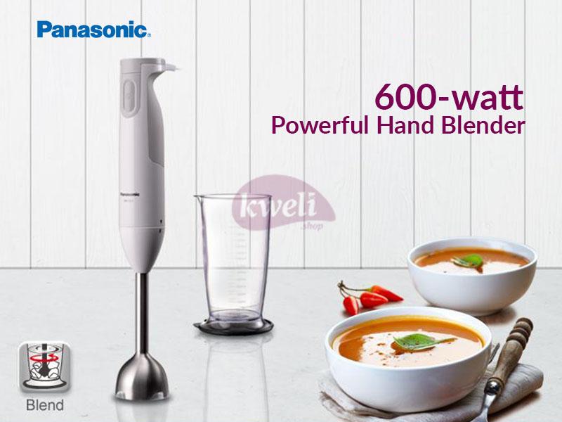 Panasonic Hand Blender MX-GS1WTZ – Powerful 600-watt Motor Hand Blenders Hand Blenders