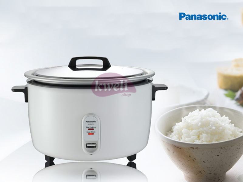 Panasonic Family Rice Cooker 7.2 liters, 40 Cups, 2500 watts – SRGA721 Kitchen Appliances Rice Cooker