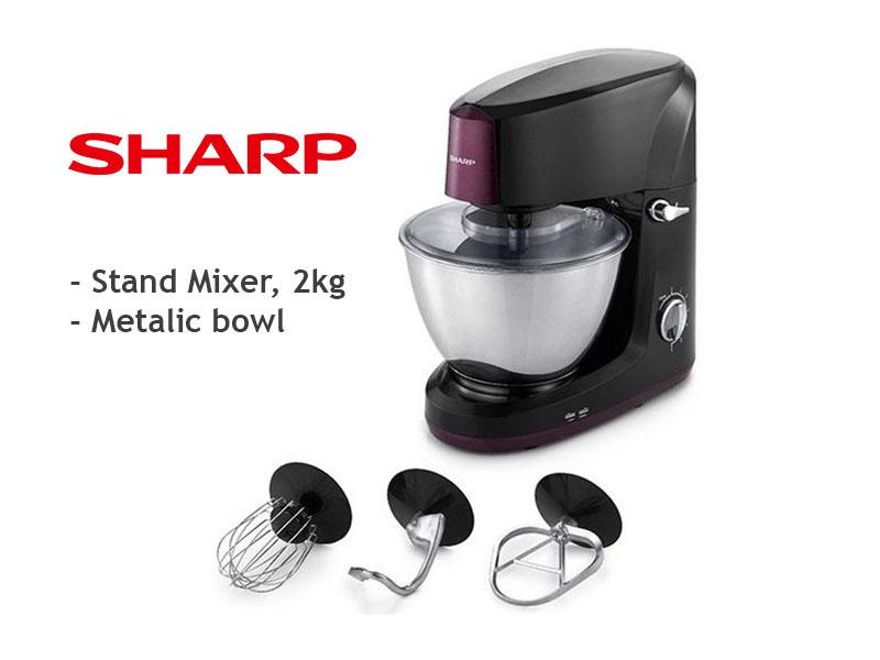 Sharp Stand Mixer, Cake Mixer, 2kg – EMS200LP Cake Mixers Egg Mixer
