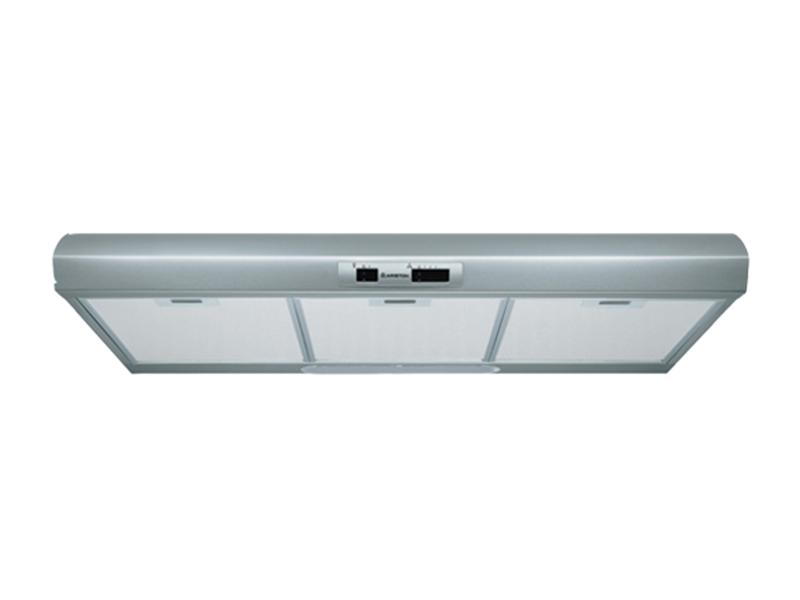 Ariston Cooker Hood/Extractor, 90cm Slim-line Rangehood, Stainless Steel – SL19.1P Chimney Hood