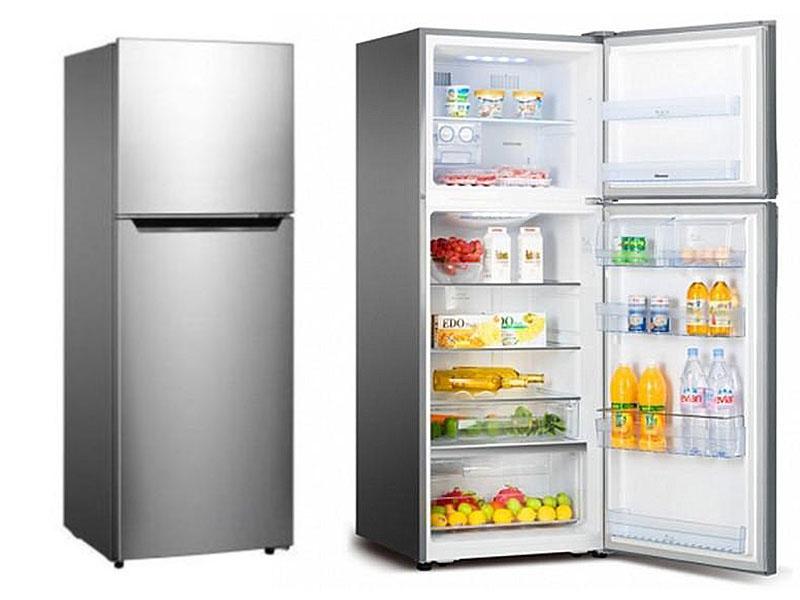Hisense 295l Fridge, Frost-free Top Mount Freezer, Double Doors – RT295N4DGN Double Door Fridges Double door fridge