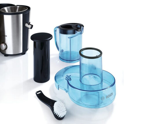 Bosch Juicer, 700-watt 2 Litre, Blue-Stainless Steel Juice Extractor – MES3500GB Juice Extractors Juice extractors