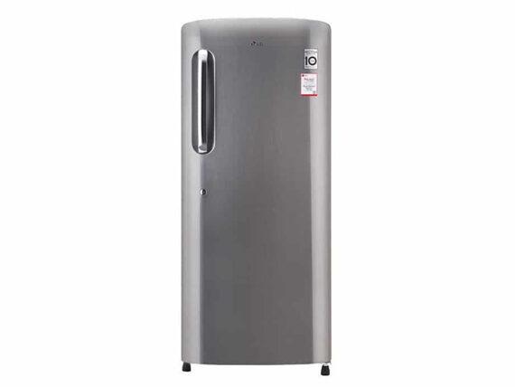 LG 180 litre Fridge, Single Door Refrigerator, Direct Cooling, Inverter Compressor – GL-B201SLLB Fridges & Freezers LG Fridge
