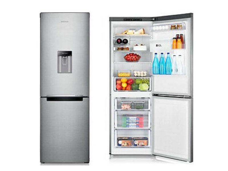 Hisense 341 Liter Double Door Fridge – RB341D4D4WGU; Dispenser, Bottom Freezer, Defrost Double Door Fridges