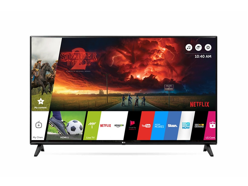 LG 43 inch Smart TV, Full HD webOS TV – Built-in WiFi, Free-to-air Receiver – 43LM6300 LG TVs