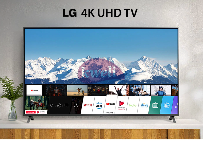 LG 50 Inch 4K UHD WebOS Smart TV 50UN7340PVC – UN73 Series, 4K Active HDR WebOS Smart AI ThinQ 4K UHD Smart TV