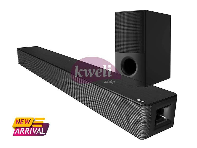 LG Sound Bar SNH5, 4.1ch, 600W with High Power Design, HDMI, USB and Bluetooth SoundBars