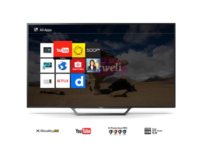 Sony 32 Inch Smart TV with Wifi, FM Radio and Inbuilt Free-to-air Receiver – KDL32W600 Smart TVs SONY BRAVIA