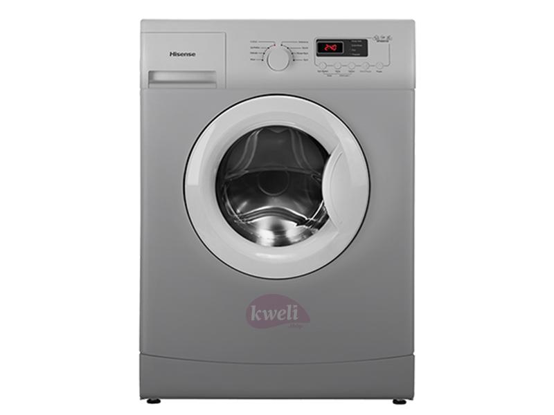Hisense 6kg Front Loading Washing Machine WFX6010S Front Load Washers Hisense Washing Machines in Uganda