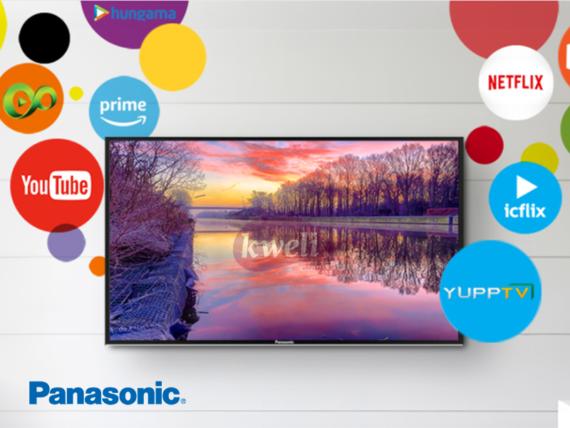 Panasonic 32 inch Smart TV TH32GS506; HD Slim D-LED Narrow Bezel Bright Panel TV, Free-to-air Receiver HD TVs