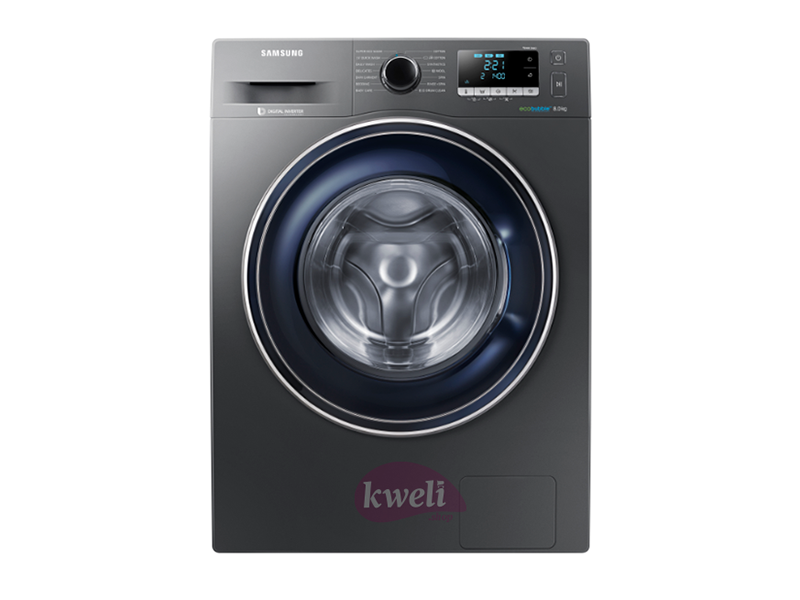 Samsung 8kg Front Load Washing Machine WW80J5260GX – Eco Bubble™ Front Load Washers