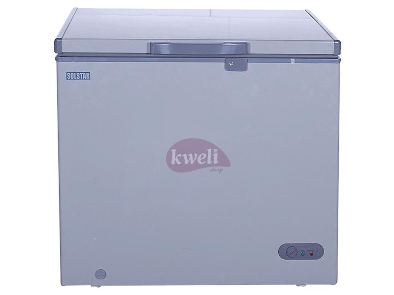 Solstar 400-liter Chest Freezer CF 400-SG, Sliding Glass Door, Lock and Key Chest Freezers Deep Freezer