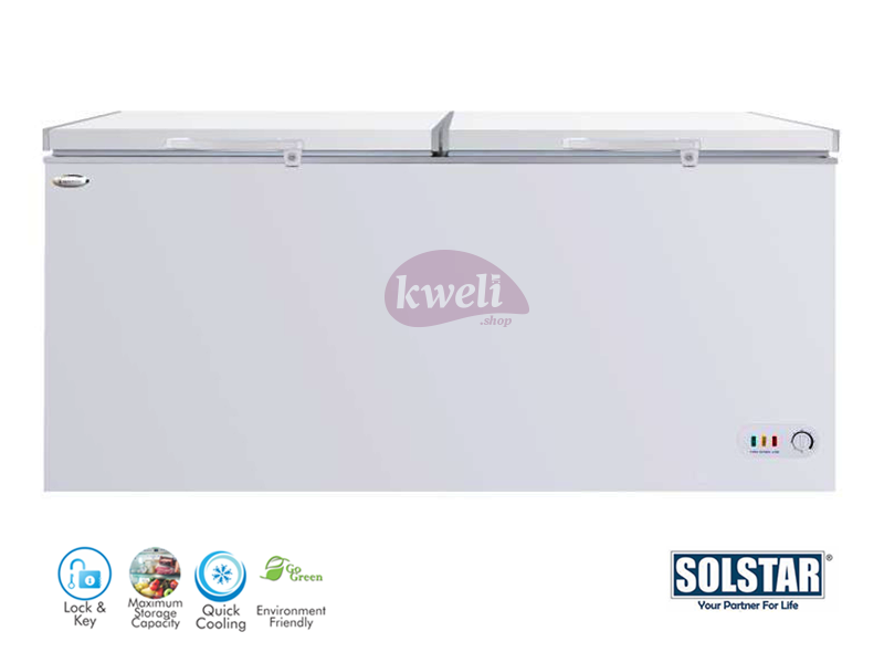Solstar 780-liter Chest Freezer CF 780-SG LBSS, Sliding Glass Door, Lock and Key, LED Lighting (Copy) Chest Freezers Deep Freezer