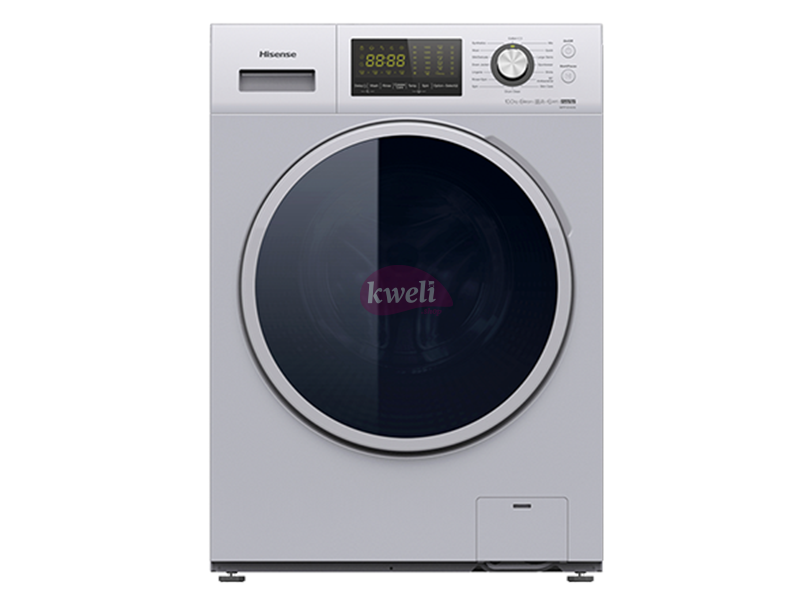 Hisense 10kg Automatic Front Load Washing Machine WFBJ1014VS plus Pause and Add Front Load Washers front load washing machine