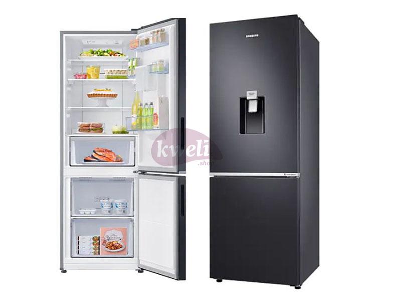 Samsung 370-liter Refrigerator with Dispenser RB37N4160B1 – Double Door Fridge, Bottom Mount Freezer, Frost Free Double Door Fridges