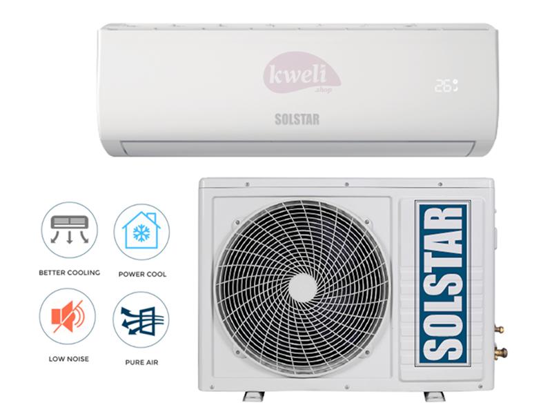 Solstar 12000 BTU Wall Split Air Conditioner, R410a  – ASI/ASU12TG-AS; free copper pipe Solstar Air Conditioners - A/Cs
