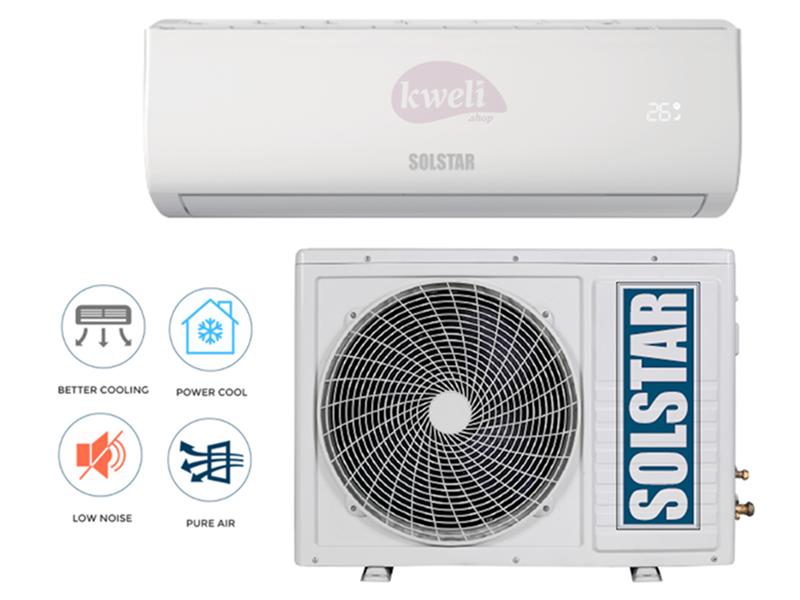 Solstar 24000 BTU Wall Split Air Conditioner, R410a – ASI/ASU 24TG-AS; Free Copper Pipe Solstar Air Conditioners - A/Cs