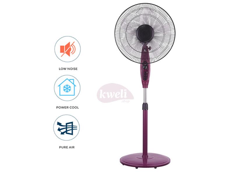 Solstar Stand Fan 16cm FS 1625U-PP SS; Low Noise, Free Standing Fan, Purple Free-standing fans