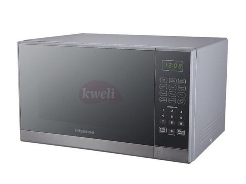 Hisense 36-litre Microwave H36MOMMI – 1000 watts, 6 auto programs, Defrost, mirror glass finish Microwave
