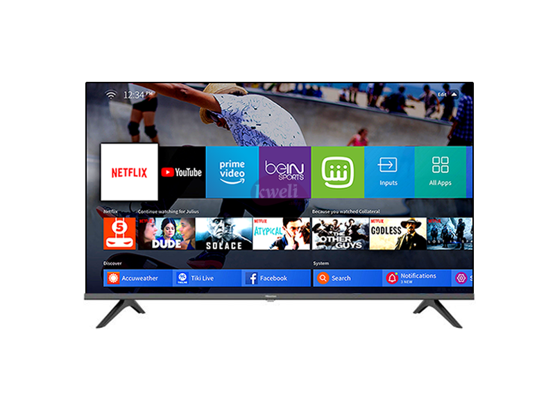 Hisense 32 inch Smart TV 32A6000FS Vidaa Smart TV – HD, Remote Now, Chromecast (Any View Cast), Built-in WiFi Receiver, HDMI, USB, Free-to-air Receiver (Frameless) Hisense TVs