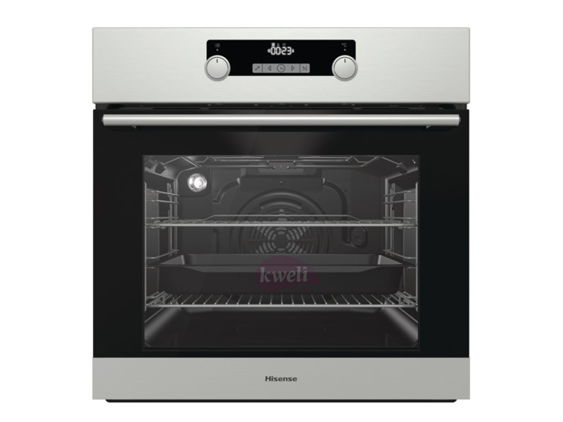 Hisense Built-in Multifunction Oven with Steam Clean, 60cm – BI3111 Built-in Ovens