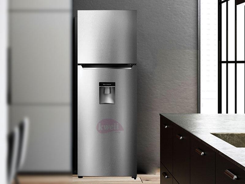 Hisense 419-liter Refrigerator with Water Dispenser RT419N4WCU; Double Door, Frost Free Top Mount Freezer Double Door Fridges