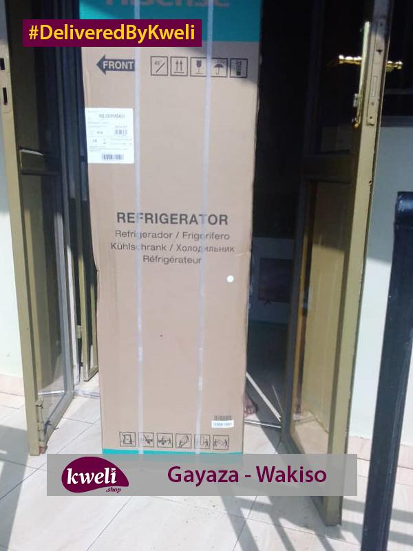Hisense Fridge Delivered in Gayaza DeliveredByKweli