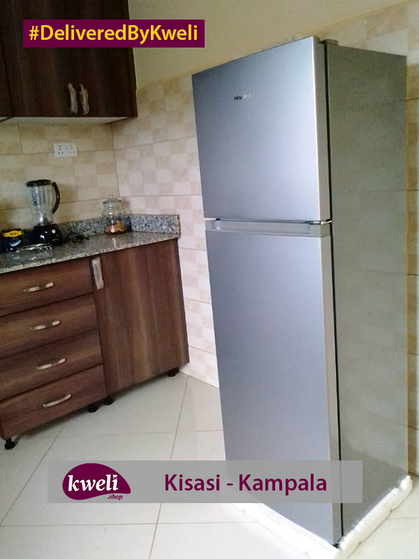 Hisense Fridge Delivered in Kisasi Kampala DeliveredByKweli
