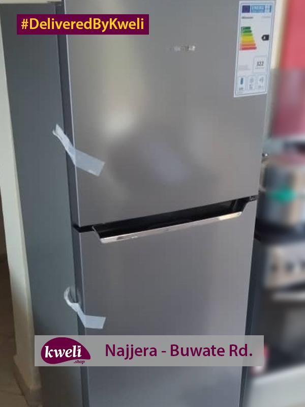 Hisense Fridge Delivered in Najjera DeliveredByKweli