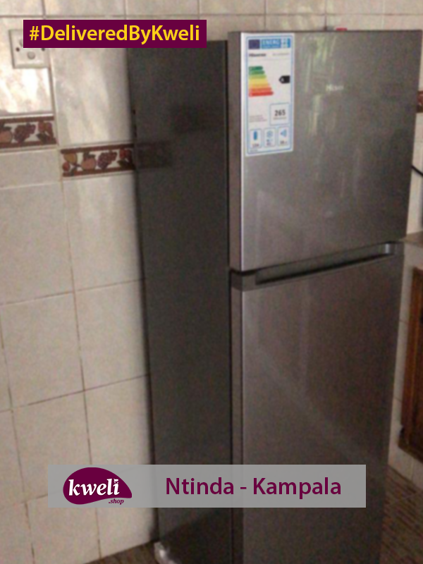 Hisense Fridge Delivered in Ntinda DeliveredByKweli