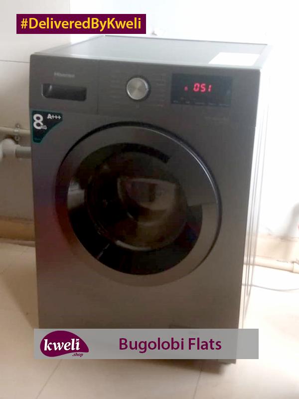 Hisense Washing Machine Delivered at Bugolobi Flats DeliveredByKweli
